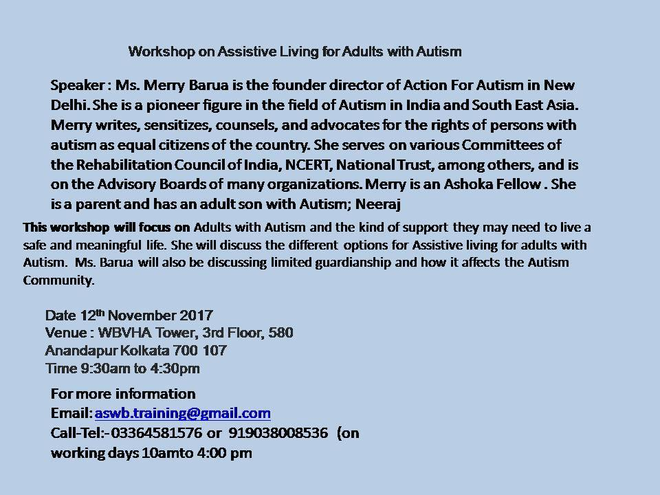 Workshop Nov 2